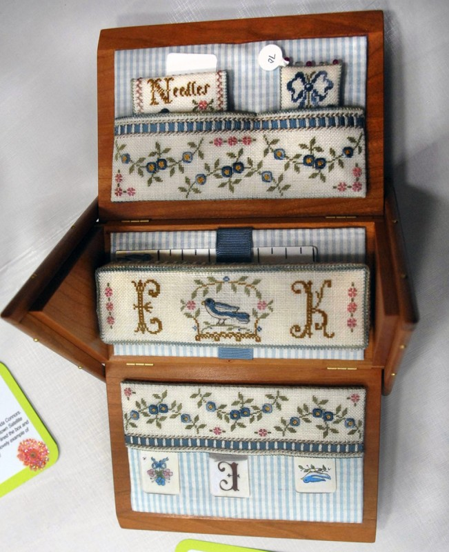 Blue Ribbon Sewing Box